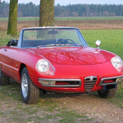 Alfa Romeo Spider 1600 Duetto Duetto